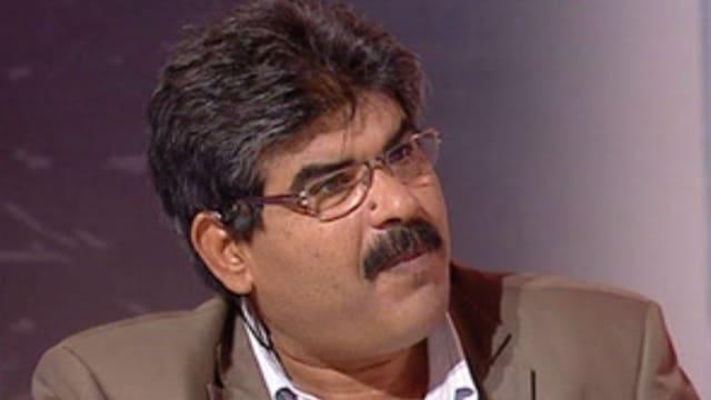 Mohamed Brahmi in einem Fernsehninterview.