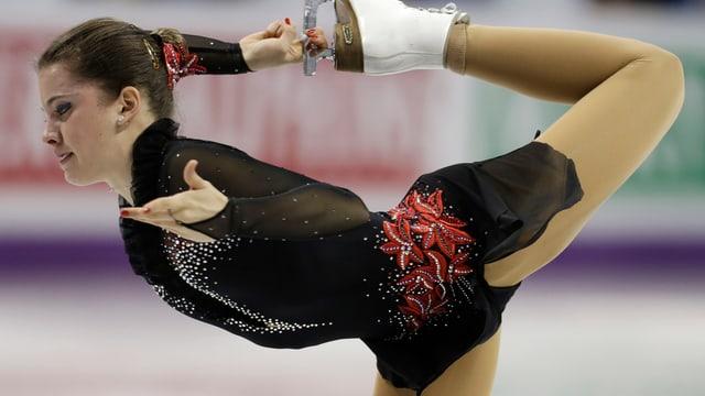 Tina Stürzinger hatte keine Chance auf eine Final-Teilnahme.