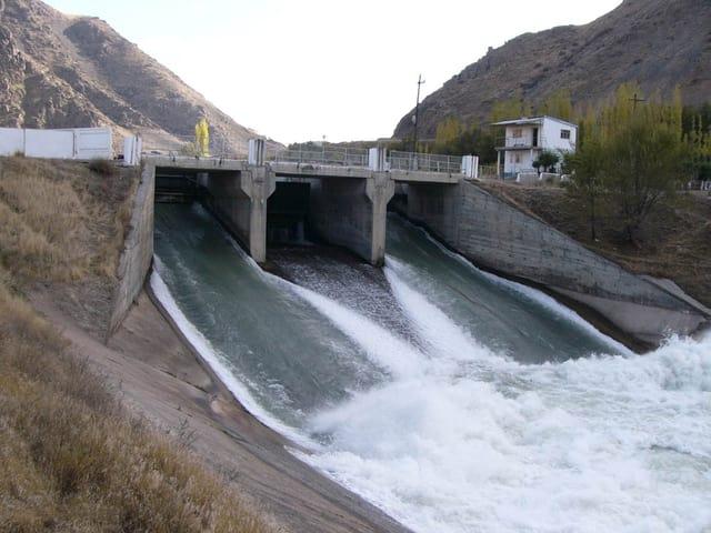 Wasserreservoir bei Kirov.