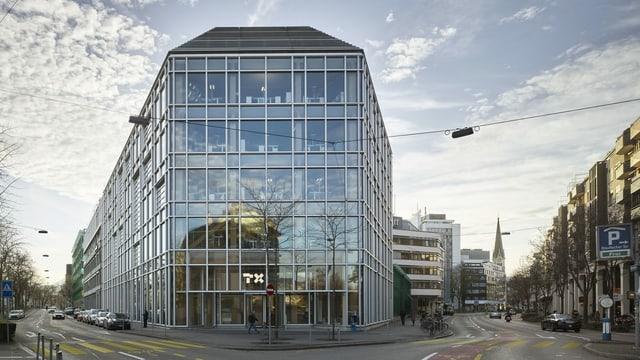 Hauptsitz der TX Group in Zürich
