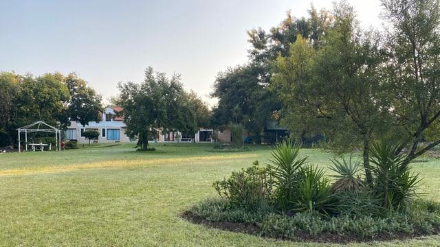 Eine Villa in Südafrika.