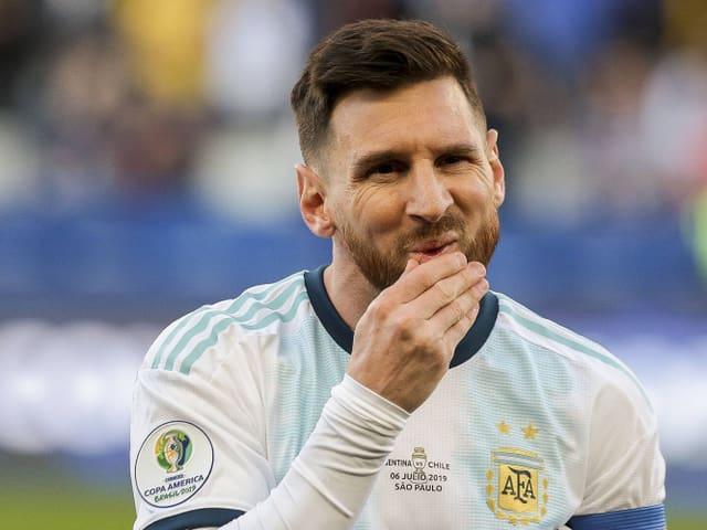 Lionel Messi wird gesperrt.