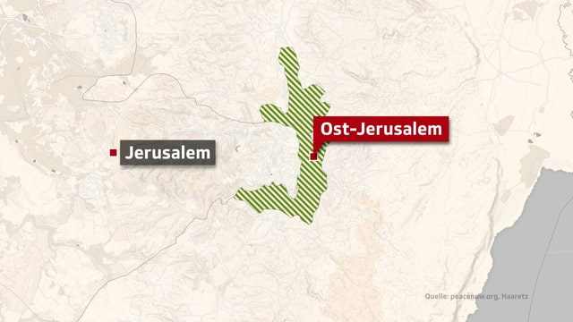 Ost-Jerusalem.
