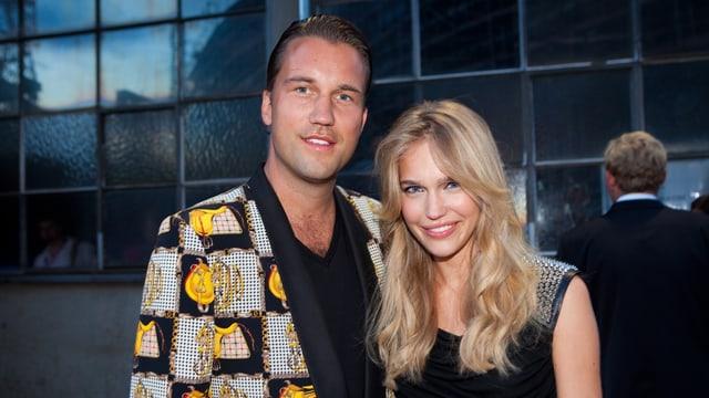 DJ Antoine und Stéphanie van Arendonk