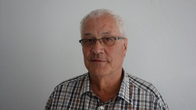 Yves Broggi, il president da la vischnanca burgaisa da Bravuogn.