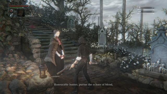 Auf dem Friedhof Blut eintauschen. Mmm.