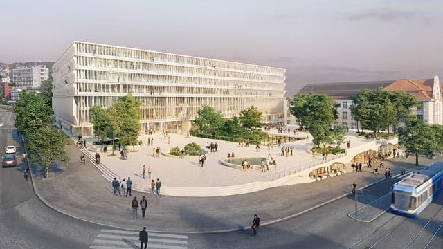 Gebäude Visualisierung