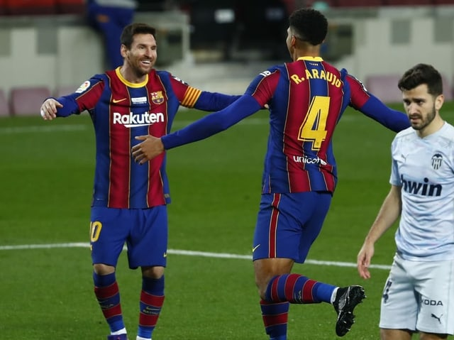 Barcelona-Star Lionel Messi.
