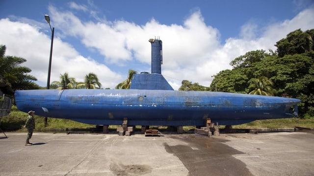 Dieses voll funktionsfähige Narco-U-Boot entdeckten die kolumbianischen Behörden bereits 2011. Es fasst acht Tonnen Kokain und hat eine Reichweite von 8000 Meilen.