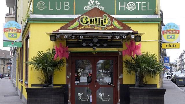 Nachtclub Chilli's im  Zürcher Kreis 4.