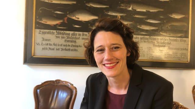 Céline Widmer, SP-Kantonsrätin