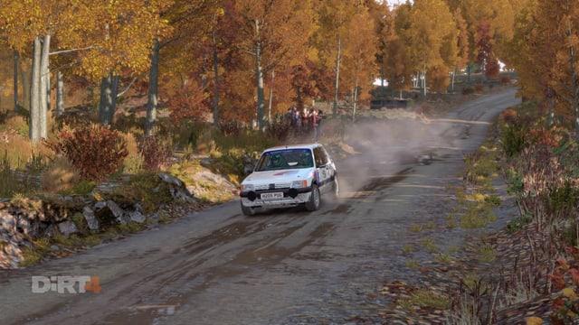 Und ein Peugeot 205.