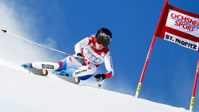 Lara Gut in St.Moritz