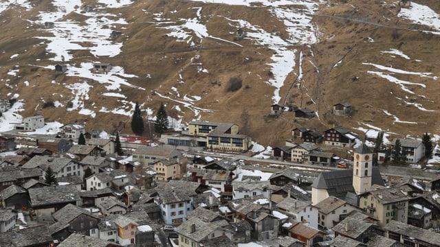Das Dorf Vals