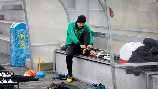 Tranquillo Barnetta im Training