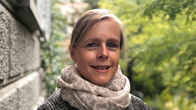 Karin Kälin betreibt eine Anlaufstelle für Kinderbetreuerinnen.