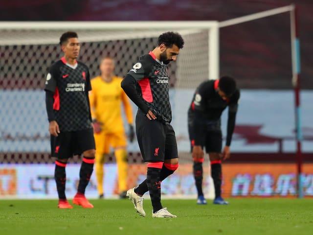 Liverpool verliert gegen Aston Villa mit 2:7.