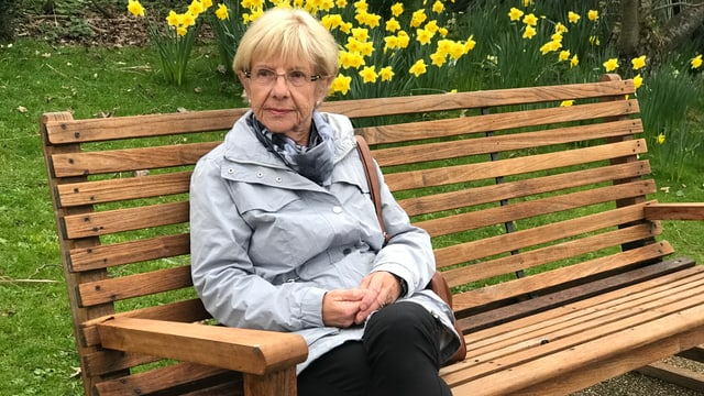 Die 75-jährige Elisabeth Ravasio lebt seit Jahrzehnten in London