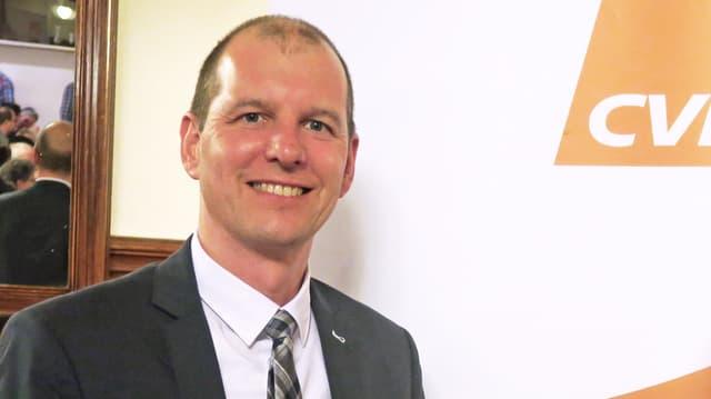 Porträt des Obwaldner Politikers Michael Siegrist.