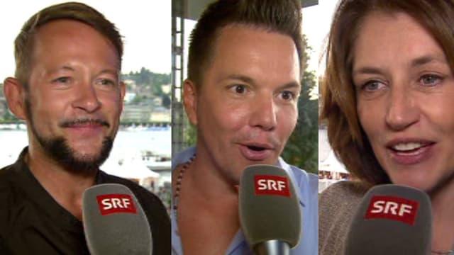 Michael von der Heide, Sven Epiney und Sina