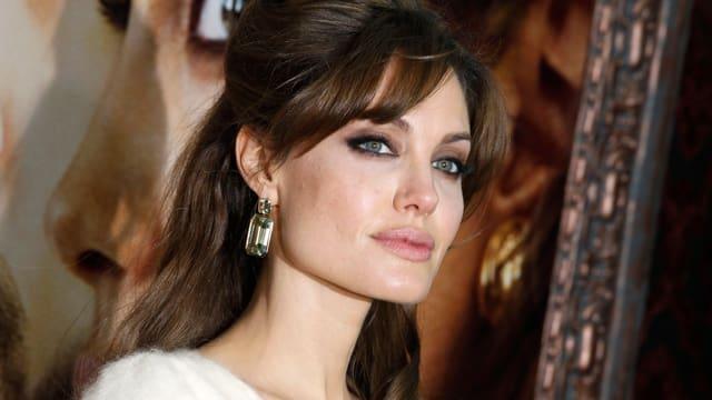 Nahaufnahme von Angelina Jolie