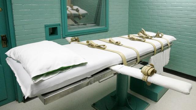 Bild einer Todeszelle in den USA.