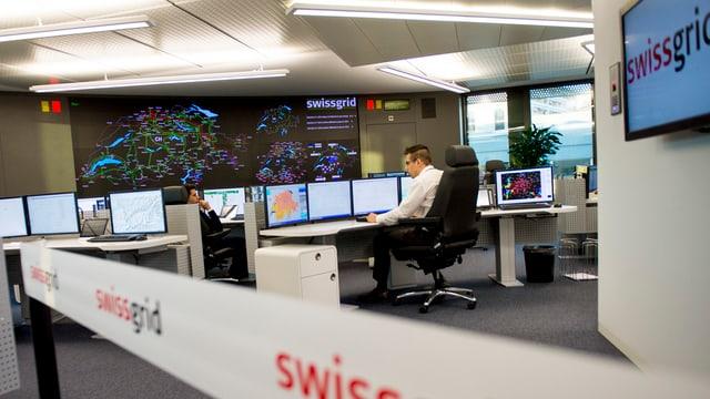 In biro da la Swissgrid.