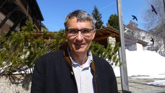 Il deputà da l'Engiadin'Ota Michael Pfäffli.