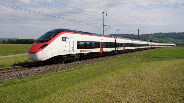 il tren en furma dinamica