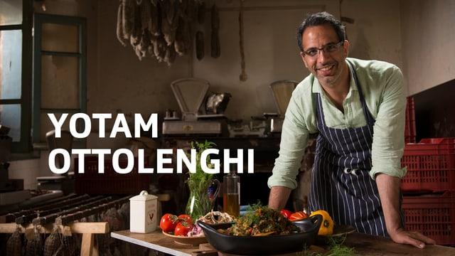 Yotam Ottolenghi in der Küche