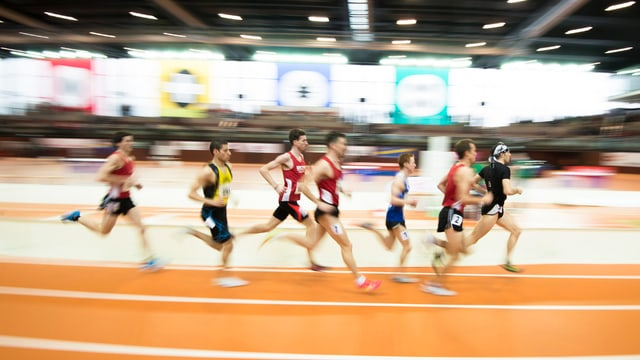 Athletikzentrum in St. Gallen.