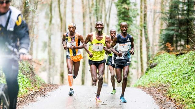 Läufer aus Afrika.