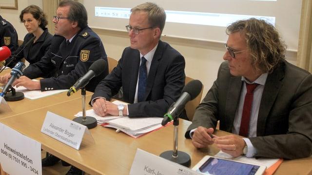 Medienkonferenz.