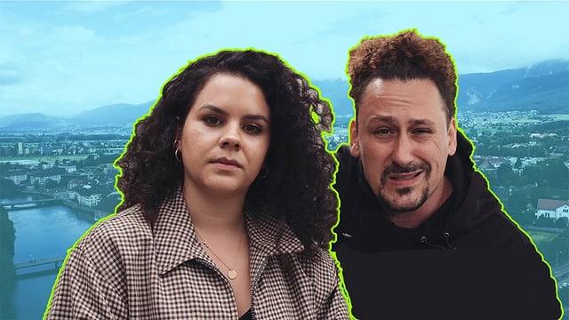 Captain Samira und Host Pablo