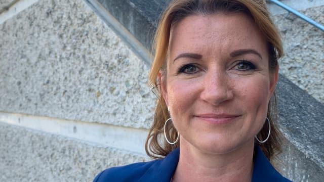 Nina Suma, Geschäftsführerin der neuen Wellness-Therme Fortyseven in Baden.