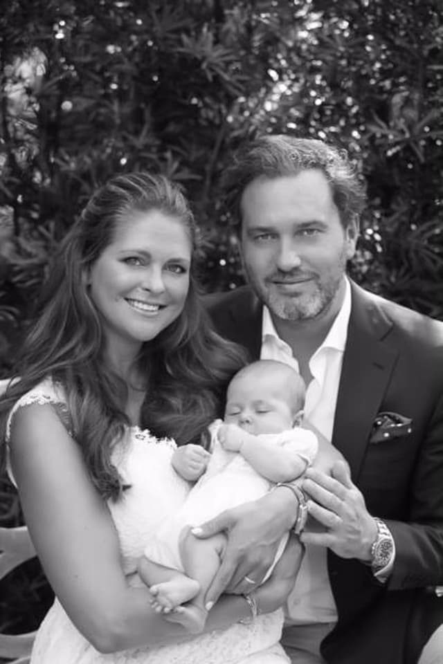 Prinzessin Madeleine, Chris O'Neill und Leonore