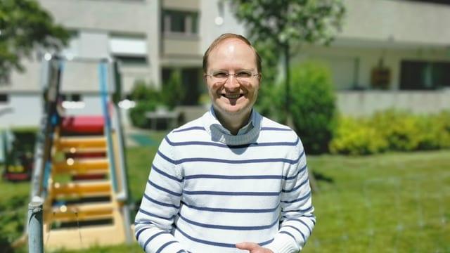 Sandro-Simon Caviezel, president da Pro Junior Grischun.