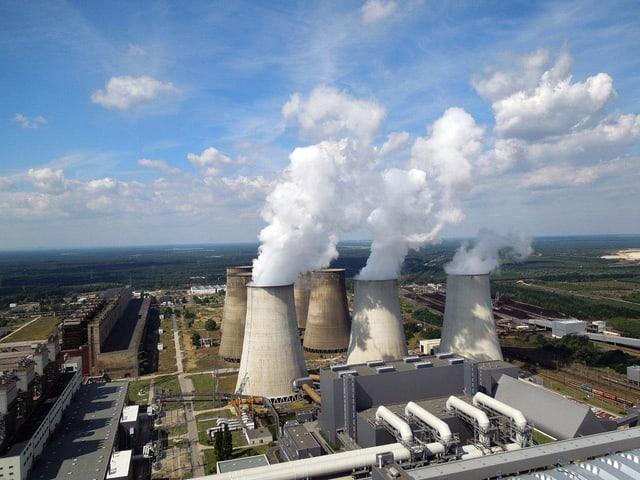 Kraftwerk Boxberg in der Oberlausitz