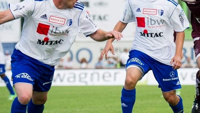 FC Wohlen im Spiel