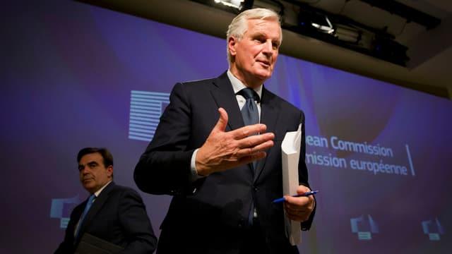 Brexit-Unterhändler der EU Michel Barnier
