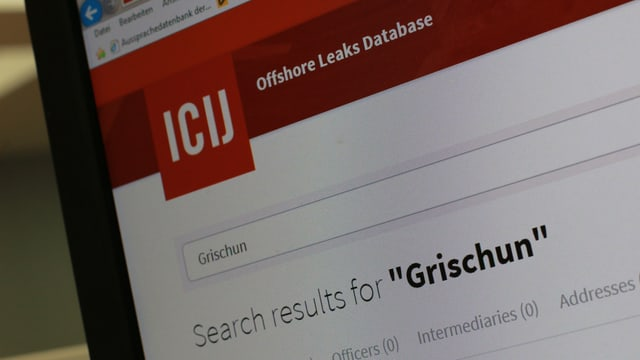 Online ins chatta ussa adressas e nums da las persunas chattadas en ils Panama Papers.