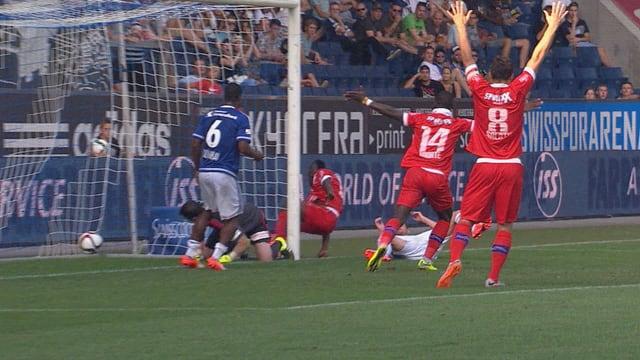 Assifuah sorgt für die 2:0-Führung.