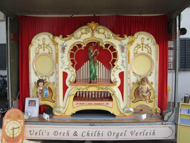Die Karussell-Orgel von Ueli Temperli von 1924.