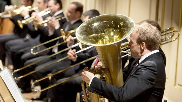 Das Orchester des Opernhauses beteiligt sich am Platzfest.