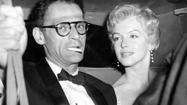 Arthur Miller und Marilyn Monroe