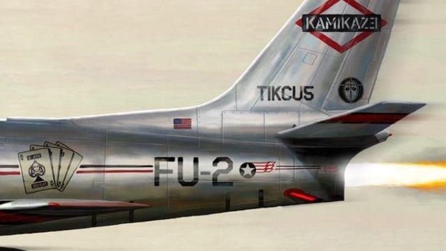 Versteckte Botschaften auf dem «Kamikaze»-Cover