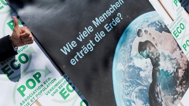Einreichung der Ecopop-Initiative in Bern 2012