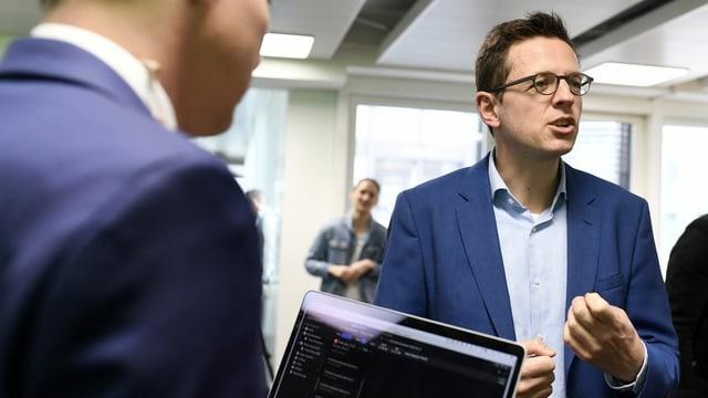 Christian Dorer, Chefredaktor der Blick-Gruppe.