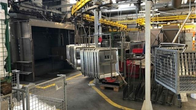 Produktionsstätte von V Zug