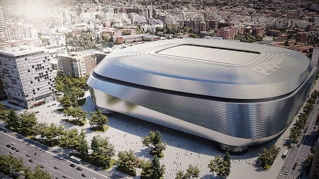 Das Bernabeu-Stadion.